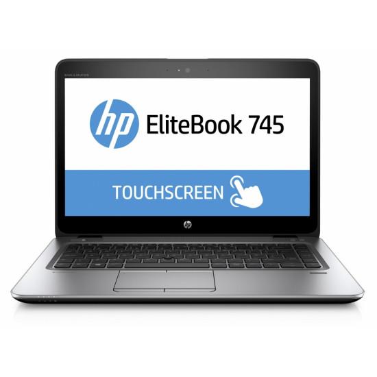 Hp Elitebook 745 G3 | Touch | AMD RADEON R5,6,7 GRAPHICS | 256 GB SSD + 500 GB HDD | FHD